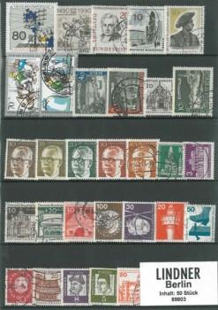 Briefmarkenpaket: Berlin (50 Briefmarken)