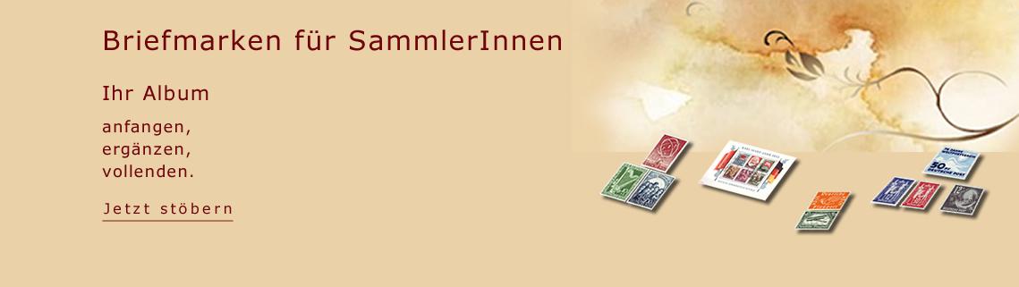 Briefmarken für SammlerInnen