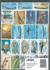 Briefmarkenpaket: Flugzeuge & Luftfahrt (100 Briefmarken)