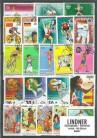 Briefmarkenpaket: Olympiade - Sommer (100 Briefmarken)