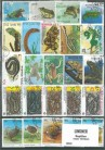 Briefmarkenpaket: Reptilien (100 Briefmarken)