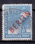 Berlin 1949, Mi.Nr. 26 Rotaufdruck, Gestempelt