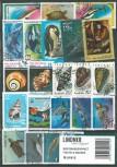 Briefmarkenpaket: Fische & Wassertiere (100 Briefmarken)