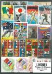 Briefmarkenpaket: Flaggen & Wappen (100 Briefmarken)