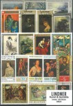 Briefmarkenpaket: Kunst & Gemälde (100 Briefmarken)