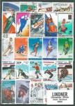 Briefmarkenpaket: Olympiade - Winter (100 Briefmarken)