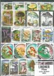 Briefmarkenpaket: Pilze (100 Briefmarken)