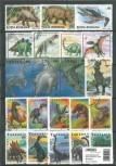 Briefmarkenpaket: Prähistorische Tiere (100 Briefmarken)