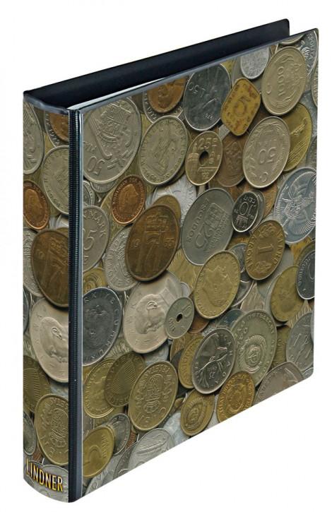 karat Motiv-Ringbinder im Münzen-Design, leer