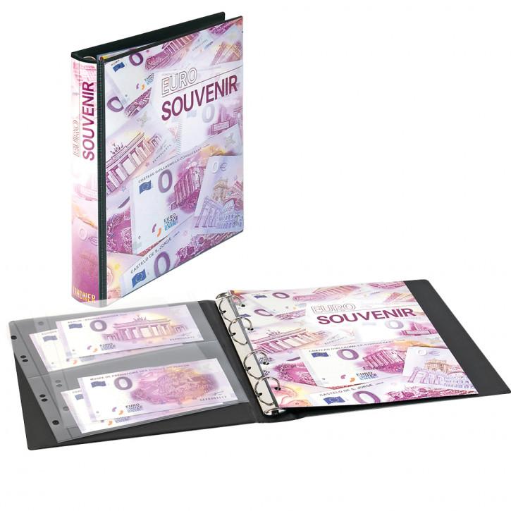 karat Sammelalbum für 0-Euro Souvenirscheine mit 10 Folienblättern