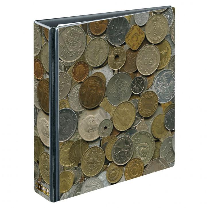 PUBLICA M Motiv-Ringbinder im Münzen-Design, leer