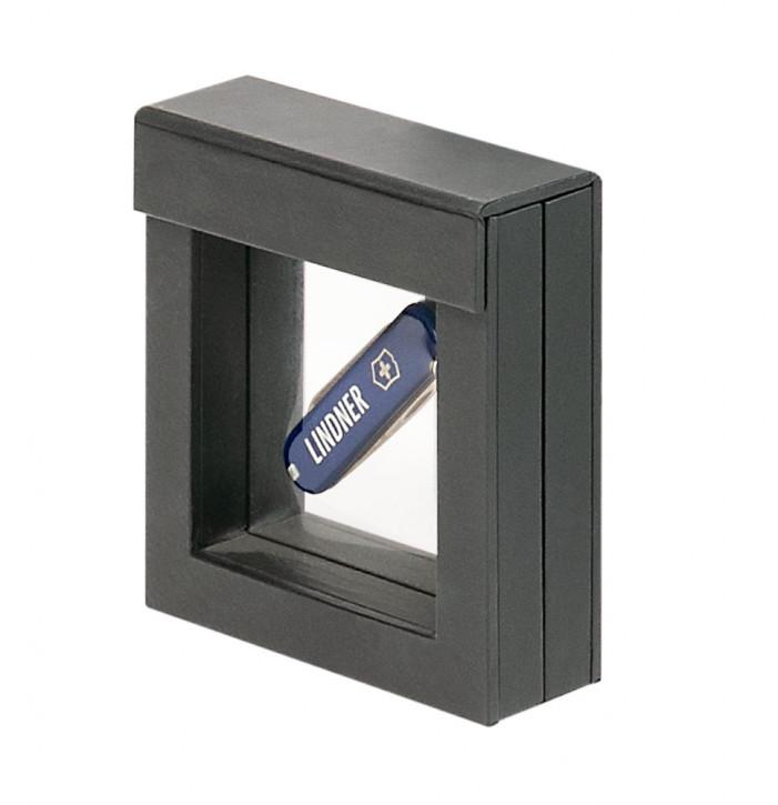 Lindner Objektrahmen NIMBUS 70, Rahmeninnenmaße 70 x 70 mm, schwarz