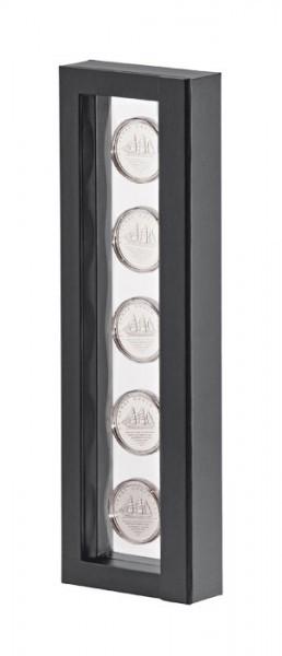 LINDNER Objektrahmen NIMBUS 265, Rahmeninnenmaße 265 x 60 mm, schwarz