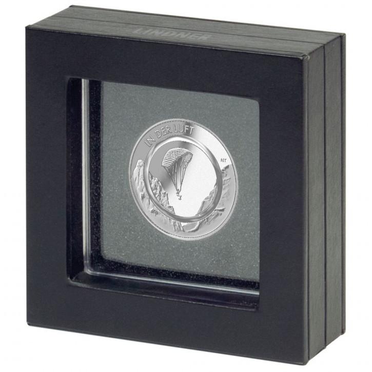 Lindner Präsentationsrahmen für eine 10€-Sammlermünze mit Polymerring