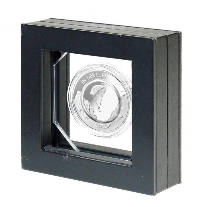 Lindner Präsentationsrahmen für eine 10€-Sammlermünze mit Polymerring mit OCTO-Kapsel