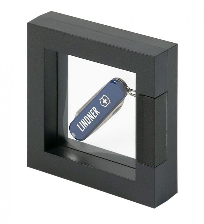 Lindner Objektrahmen NIMBUS ECO 70, Rahmeninnenmaße 70 x 70 mm, schwarz