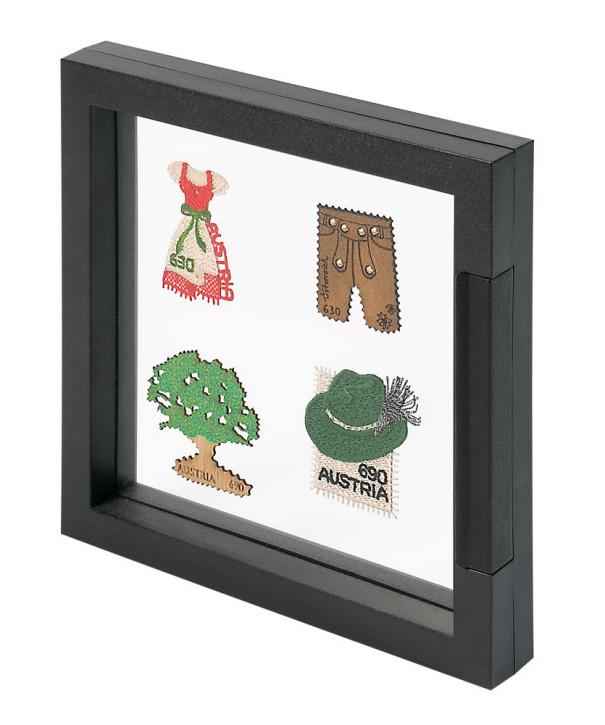 LINDNER Objektrahmen NIMBUS ECO 150, Rahmeninnenmaße 150 x 150 mm, schwarz