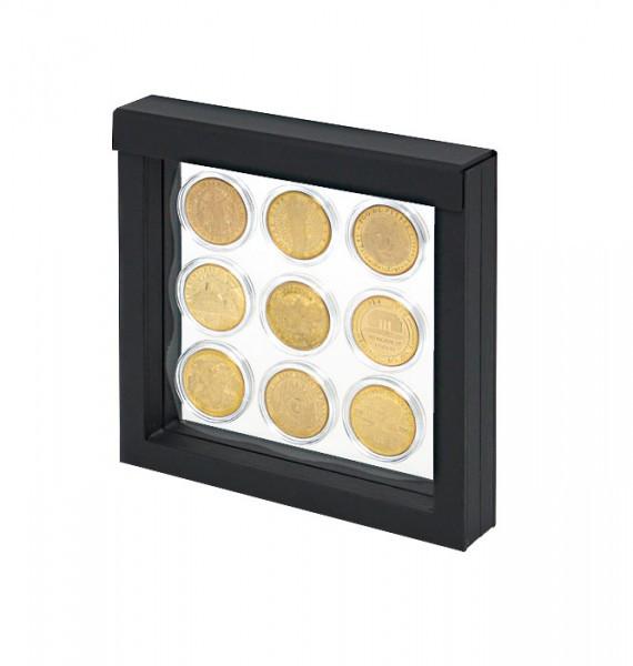 LINDNER Objektrahmen NIMBUS 150, Rahmeninnenmaße 150 x 150 mm, schwarz