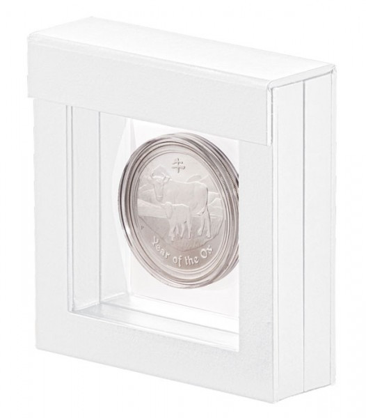 Lindner Objektrahmen NIMBUS 70, Rahmeninnenmaße 70 x 70 mm, weiß