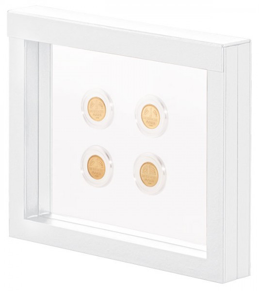 LINDNER Objektrahmen NIMBUS 230, Rahmeninnenmaße 230 x 180 mm, weiß