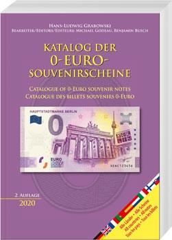 Katalog der 0-Euro-Souvenirscheine, 2. Auflage 2020