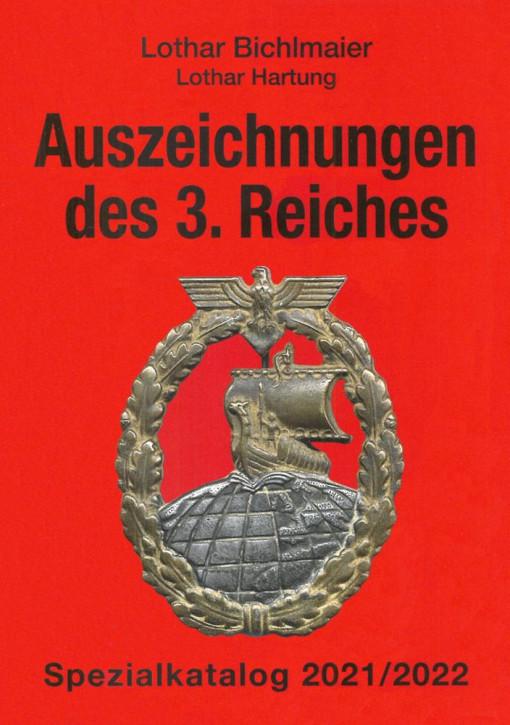 Auszeichnungen des 3. Reiches Spezialkatalog 2021/2022