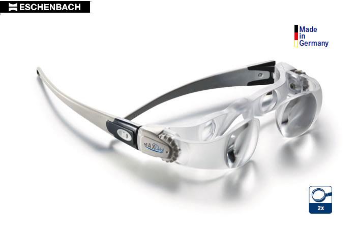 ESCHENBACH Lupenbrille MaxDetail, 2fach